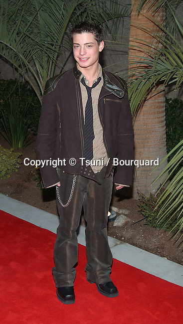 Andy Lawrence arrives at the 2002 Fox Billboard Music Awards held at the MGM Grand Hotel in Las Vegas, NV., December 9, 2002.