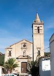 Iglesia de San Juan Bautista, church in Linares de la Sierra, Sierra de Aracena, Huelva province, Spain