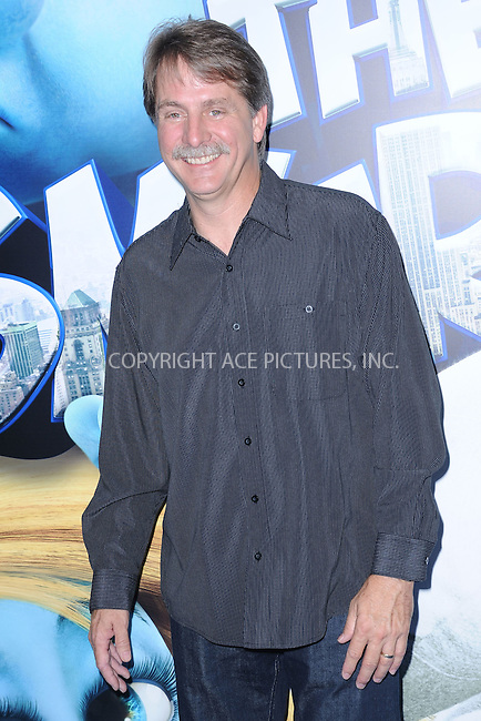 WWW.ACEPIXS.COM . . . . . .July 24, 2011...New York City....Jeff Foxworthy attends the premiere of 'The Smurfs' at the Ziegfeld Theater on July 24, 2011 in New York City....Please byline: KRISTIN CALLAHAN - ACEPIXS.COM.. . . . . . ..Ace Pictures, Inc: ..tel: (212) 243 8787 or (646) 769 0430..e-mail: info@acepixs.com..web: http://www.acepixs.com .