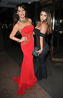 Elizabeth &quot;Lizzie&quot; Cundy and Abigail Clarke at the World Cancer Day Gala, Jumeirah Carlton Tower Hotel, Cadogan Place, London, England, UK, on Saturday 03 February 2018.<br /> CAP/CAN<br /> &copy;CAN/Capital Pictures