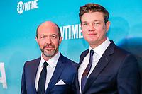 "NEW YORK - NOVEMBER 14: Eric Lange (L) and Brett Johnson attend the premiere of Showtime's limited series ""Escape at Dannemora"" at Alice Tully Hall in Lincoln Center on November 14, 2018 in New York City. (Photo by Kena Betancur/Showtime/PictureGroup)"
