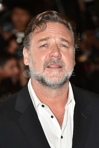 Russell Crowe<br /> 'The Nice Guys' screening arrivals during the 69th International Cannes Film Festival, France May 15, 2016.<br /> CAP/PL<br /> &copy;Phil Loftus/Capital Pictures /MediaPunch ***NORTH AND SOUTH AMERICA ONLY***