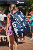 Netherlands, Dordrecht, August 03, 2015, Tennis,  National Junior Championships, NJK, TV Dash 35, big bag<br /> Photo: Tennisimages/Henk Koster
