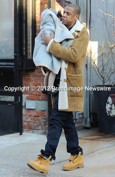 Pictured: Beyonce Knowles, Jay Z, Blue Ivy<br /> Mandatory Credit &copy; Jayme Oak/Broadimage<br /> Jay Z and wife Beyonce Knowles take their precious cargo baby Blue Ivy to lunch in a restaurant in Brooklyn in New York City<br /> <br /> 1/20/14, New York, New York, United States of America<br /> <br /> Broadimage Newswire<br /> Los Angeles 1+  (310) 301-1027<br /> New York      1+  (646) 827-9134<br /> sales@broadimage.com<br /> http://www.broadimage.com<br /> <br /> <br /> Pictured: Beyonce Knowles, Jay Z, Blue Ivy<br /> Mandatory Credit &copy; Jayme Oak/Broadimage<br /> Jay Z and wife Beyonce Knowles take their precious cargo baby Blue Ivy to lunch in a restaurant in Brooklyn in New York City<br /> <br /> 1/20/14, New York, New York, United States of America<br /> Reference: 011914_JKNY_BDG_021<br /> <br /> Broadimage Newswire<br /> Los Angeles 1+  (310) 301-1027<br /> New York      1+  (646) 827-9134<br /> sales@broadimage.com<br /> http://www.broadimage.com