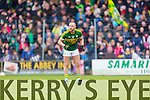 Barry John Keane Kerry in action against  Donegal in Division One of the National Football League at Austin Stack Park Tralee on Sunday.