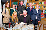 "Book Launch: Attending the launch of Breda Joy's book ""Hidden Kerry"" at the Seanchai Centre , Listowel on Friday night last were  Brda Joy & Fr. Pat Moore who launched the book. Back : Bridget McAuliffe, Anne Dillon, Canon Declan O'Connor, Martin Moore & Breda Moore."