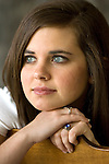 Allison McMath senior portrait.  (Photo/Steve Campbell)    .