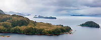 Western shore of Knight Island, Squirrel Island, Prince William Sound, Chugach National Forest, southcentral, Alaska.