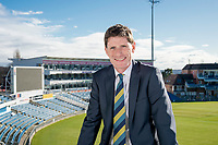 Picture by Allan McKenzie/SWpix.com - 09/02/18 - Cricket - Yorkshire County Cricket Club Corporate Headshots - Headingley Cricket Ground, Leeds, England - Steve Denison.