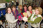 Coral Reef Campaign: These Listowel ladies pictured in Matchbox Handcraft Shop, Market St, are knitting wool creations that look like coral in aid of the Coral Reef Campaign. Fron left: Orla Breslin, Frances O'Keefe, Mairead O'connor, Mary McElligott, Judy Lynch and Kathy Maher.