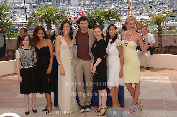 "Stars of X-Men at the photocall for ""X-Men 3: The Last Stand"" at the 59th Annual International Film Festival de Cannes..May 17, 2006  Cannes, France..© 2006 Paul Smith / Featureflash"