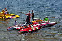 "What is the ""World's Greatest Backup Driver"" Mike Monahan, GP-93 ""Renegade"" saying here?  (Grand Prix Hydroplane(s)"