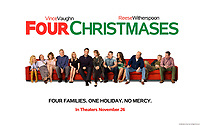 Four Christmases (2008) <br /> Wallpaper<br /> *Filmstill - Editorial Use Only*<br /> CAP/KFS<br /> Image supplied by Capital Pictures