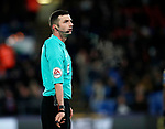 Referee Michael Oliver in action during the premier league match at Selhurst Park Stadium, London. Picture date 28th December 2017. Picture credit should read: David Klein/Sportimage