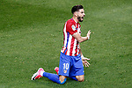 Atletico de Madrid's Yannick Ferreira Carrasco during La Liga match. April 4,2017. (ALTERPHOTOS/Acero)