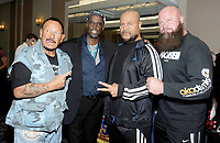 NEW YORK, NY - NOVEMBER 4:  Bushwhacker Luke Williams,BlacjJack Brown, The Barbarian and The Warlord attends the Big Event NY at LaGuardia Plaza Hotel on November 4, 2017 in Queens, New York.  Credit: George Napolitano/MediaPunch /NortePhoto.com