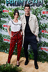 Diego Matamoros and Estela Grande attends to Triple Frontera premiere at Callao City Lights in Madrid, Spain. March 06, 2019. (ALTERPHOTOS/A. Perez Meca)