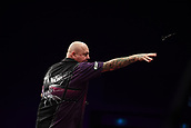 11th January 2018, Brisbane Royal International Convention Centre, Brisbane, Australia; Pro Darts Showdown Series; Andy Hamilton (GBR) in Quarter Final action against Kyle Anderson (AUS)