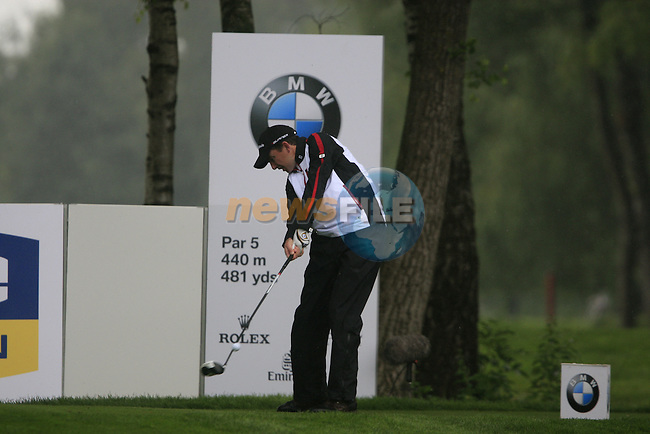 Peter Lawrie (IRL) tees off on the 6th tee during Day 1 of the BMW International Open at Golf Club Munchen Eichenried, Germany, 23rd June 2011 (Photo Eoin Clarke/www.golffile.ie)