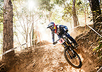 Picture by Alex Broadway/SWpix.com - 09/09/17 - Cycling - UCI 2017 Mountain Bike World Championships - Downhill - Cairns, Australia - Tahnee Seagrave of Great Britain in action during a practice session.