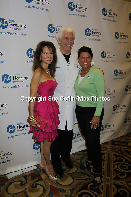 Susan Lucci and Founder Bill Austin at the Starkey Hearing Foundation event on June 18, 2011 at the Las Vegas Hilton, Las Vegas, Nevada. (Photo by Sue Coflin/Max Photos)