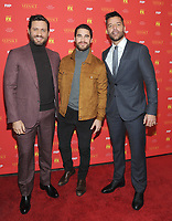 NEW YORK, NY - December11:  Edgar Ramirez, Darren Criss and Ricky Martin attends 'The Assassination Of Gianni Versace: American Crime Story' New York Screening at Metrograph on December 11, 2017 in New York City. Credit: John Palmer/MediaPunch /nortephoto.com NORTEPHOTOMEXICO