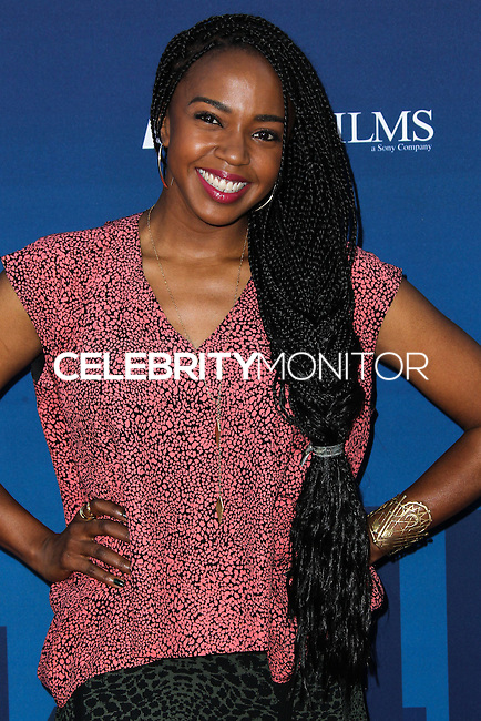 """HOLLYWOOD, LOS ANGELES, CA, USA - APRIL 29: Jerrika Hinton at the Los Angeles Premiere Of TriStar Pictures' """"Mom's Night Out"""" held at the TCL Chinese Theatre IMAX on April 29, 2014 in Hollywood, Los Angeles, California, United States. (Photo by Xavier Collin/Celebrity Monitor)"""