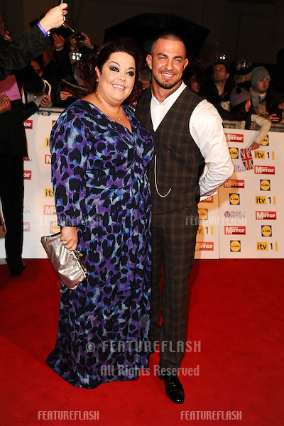 Lisa Riley and Robin Windsor arriving for the 2012 Pride of Britain Awards, at the Grosvenor House Hotel, London. 29/10/2012 Picture by: Steve Vas / Featureflash