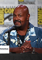 SAN DIEGO COMIC-CON© 2019:  L-R: 20th Century Fox Television's AMERICAN DAD Cast Member Kevin Michael Richardson during the AMERICAN DAD panel on Saturday, July 20 at the SAN DIEGO COMIC-CON© 2019. CR: Frank Micelotta/20th Century Fox Television