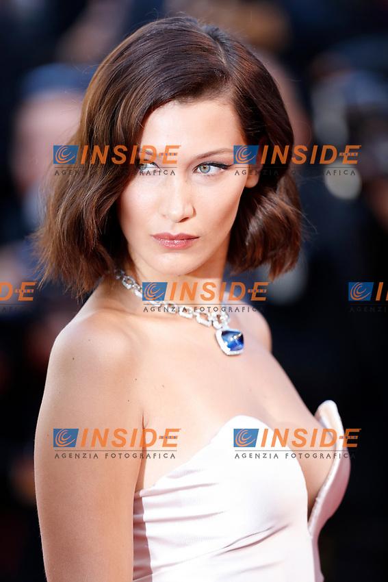 Bella Hadid<br /> Cannes 17-05-2017 70&deg;Edizione Festival del Cinema di Cannes. Cerimonia d'apertura<br /> Foto Panoramic / Insidefoto