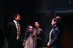"""Sterling Swann - Isabella Conveartino - Alison Rooney - Ann Deblinger as Philipstown Depot Theatre presents The Secret Garden on November 15, 2009 in Garrison, New York. The musical The Secret Garden is the story of """"Mary Lennox"""", a rich spoiled child who finds herself suddenly an orphan when cholera wipes out the entire Indian village where she was living with her parents. She is sent to live in England with her only surviving relative, an uncle who has lived an unhappy life since the death of his wife 10 years ago. """"Archibald's son Colin"""", has been ignored by his father who sees Colin only as the cause of his wife's death.This is essentially the story of three lost, unhappy souls who, together, learn how to live again while bringing Colin's mother's garden back to life. (Photo by Sue Coflin/Max Photos)........"""