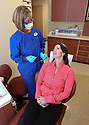Healthy Living Section.  Adult braces patient Rebecca Diehl is finishing up a second round of braces with the help of lead assistant Michelle Rourke from Ashmore and Mayfield. At 40 years old, many adults are finding themselves in the market for the services. Brad Camp | For the Kitsap Sun.