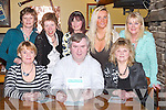 QUIZ: Supporting the Dan Horan Table Quiz for the Street Children of Bucharest at Kirby's Brogue Inn, Tralee, on Thursday night. Front l-r: Bernadette Leahy, Dan Horan and Tessy Breen. Back l-r: Eileen O'Sullivan, Ann Christie, Nina Mansfield, Sandra Breen and Margaret McIntyre..