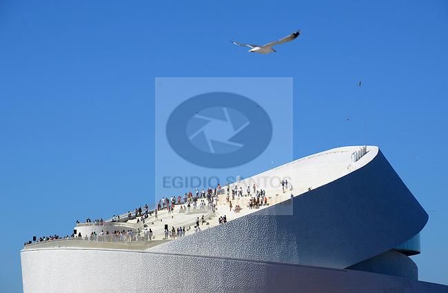 New building of Leix&otilde;es Cruise Terminal.<br /> 2015