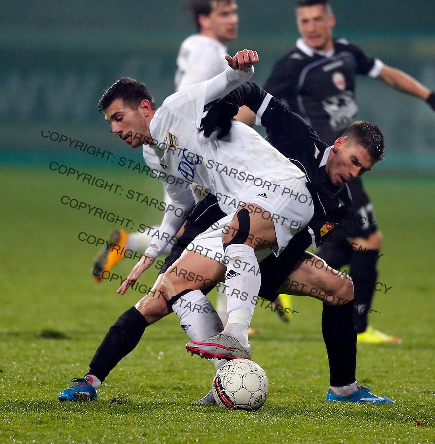 Andrija Pavlovic  Fudbal, Super liga Srbije, Cukaricki - Vozdovac 16.12.2015.<br /> 16. Decembar 2015. (credit image &amp; photo: Pedja Milosavljevic / STARSPORT)