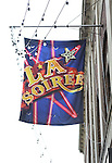 Theatre Marquee for the 'La Soiree'  Open Press Rehearsal at the Union Square Theatre on October 30, 2013  in New York City.
