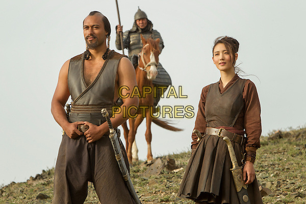 Uli Latukefu and Claudia Kim<br /> in Marco Polo (2014&ndash; )    <br /> (Season 1)<br /> *Filmstill - Editorial Use Only*<br /> CAP/NFS<br /> Image supplied by Netflix/Capital Pictures