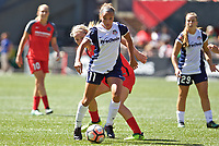 Portland, OR - Saturday September 02, 2017: Mallory Pugh during a regular season National Women's Soccer League (NWSL) match between the Portland Thorns FC and the Washington Spirit at Providence Park.