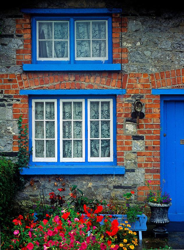 Traditional Irish cottege, County Limerick, Ireland<br />