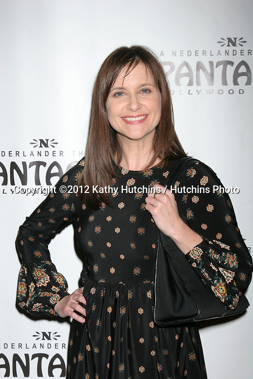 """LOS ANGELES - DEC 4:  Kellie Martin arrives to """"Donny & Marie - Christmas in Los Angeles"""" Opening Night at Pantages Theater on December 4, 2012 in Los Angeles, CA"""