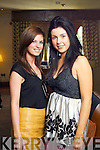 Louise James Ballyhigue and Sabina Sayer, Tralee at Kerry Fashion Weekend at the Brehon Hotel Killarney on Sunday.