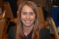 RIO DE JANEIRO, RJ, 23 AGOSTO 2012 - ELEICOES 2012-EDUARDO PAES-Patricia Amorim, Presidente do Flamengo, participa de almoco com representantes da Associacao de Dirigentes de Empresas do Mercado Imobiliario (Ademi). No encontro, serao discutidas propostas para o setor, no Hotel Sheraton, no Leblon, na zona sul do Rio de Janeiro.(FOTO:MARCELO FONSECA / BRAZIL PHOTO PRESS).