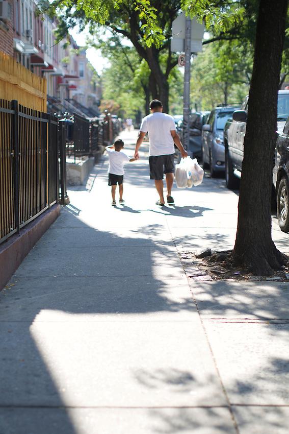 BROOKLYN, NY - August 15, 2015: A walk through Sunset Park.<br /> <br /> Credit: Clay Williams.<br /> <br /> &copy; Clay Williams / http://claywilliamsphoto.com