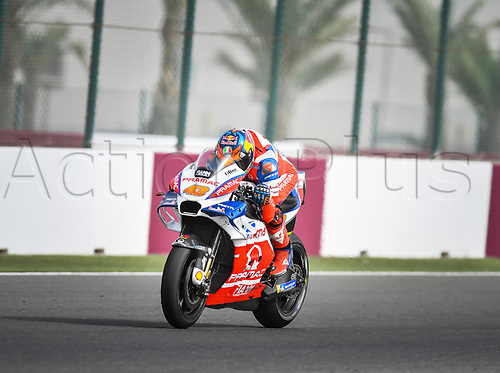 17th March 2018, Losail International Circuit, Lusail, Qatar; Qatar Motorcycle Grand Prix, Saturday qualifying; Jack Miller (Pramac)