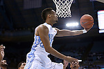16 November 2014: North Carolina's J.P. Tokoto. The University of North Carolina Tar Heels played the Robert Morris University Colonials in an NCAA Division I Men's basketball game at the Dean E. Smith Center in Chapel Hill, North Carolina. UNC won the game 103-59.