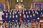 Faha NS students who made their confirmation in Milltown on Monday front row l-r: Darragh Lehane, Roisin Clifford, Shannon Howe, Aine O'Shea, Bishop Bill Murphy, Nicole Scannell, Orla Courtney, Aileen O'Leary, Katie Horgan. Second row: Niall Kennedy, Fionn Corcoran, Conor Keane, Emma O'Sullivan, Alan Daly, Teresa Mannix, Siobhain Clifford, Ciara O'Sullivan, Ciara O'Donoghue, Claudia Culloty, Aoife McSweeney, Michael O'Leary, Christopher Scully. Back row: Kevin Courtney, Kieran Hobbins, Jamie Lynch, Darragh O'Shea, Aoife O'Mahony, Padraic O'Sullivan, Aoife Murphy, Kevin Courtney, Emmet Kennedy, Alan Daly, Shannon Campbell, Meagan O'Sullivan, Brian Buckley, Senan Wrenn, Kieran Brosnan, Holly O'Meara, Elena Horgan, James Collins, Meagan O'Connor, Conor O'Sullivan, Joesph Clifford and Brian Kennedy