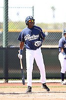 Daniel Garce, San Diego Padres minor league spring training..Photo by:  Bill Mitchell/Four Seam Images.