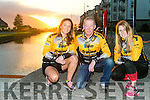 Suzanne O'Sullivan, Dennis Hoare and Ciara Tierney, Tralee Triathlon Club members