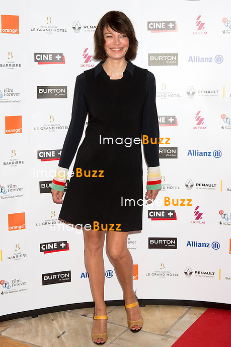 Marianne Denicourt lors de la soir&eacute;e d'ouverture du 27&egrave;me Festival du film britannique de Dinard. <br /> France, Dinard, 29 septembre 2016.<br /> Opening night of 27th Edition of the Dinard British Film Festival.<br /> France, Dinard, 29 September 2016.