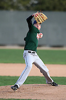 January 17, 2010:  Austin Denault (Bradley, IL) of the Baseball Factory Central Team during the 2010 Under Armour Pre-Season All-America Tournament at Kino Sports Complex in Tucson, AZ.  Photo By Mike Janes/Four Seam Images